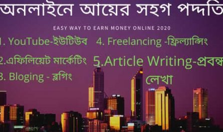 Easy way to earn money online 2020