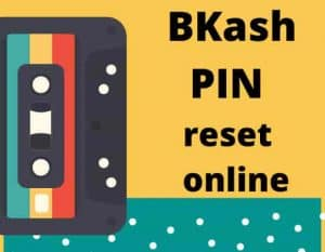 bKash PIN reset the online system,বিকাশ পিন লক হলে করণীয়