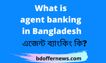 What is agent banking in Bangladesh